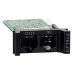 Устройства защиты серии APC PTEL2R ProtectNet REPLACEABLE, RACKMOUNT, 1U, 2 LINE TELCO SURGE PROTECTION MODULE